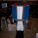 nutcracker painted body